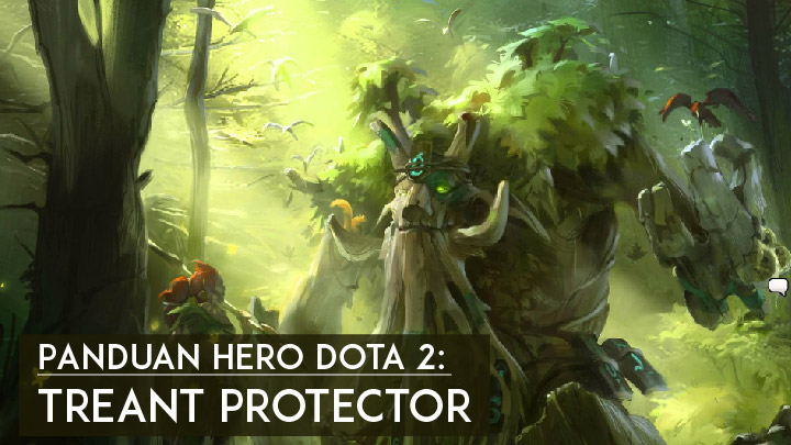 Panduan Hero Dota 2 Treant Protector - Featured